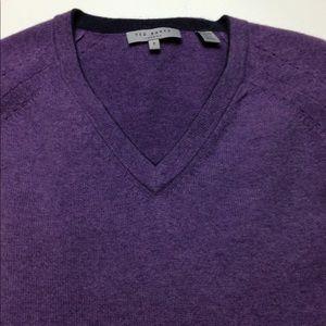 Ted Baker London purple sweater size 5